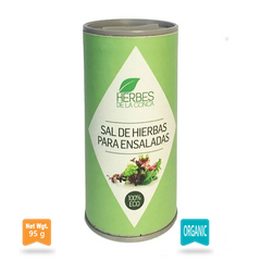 Salt with Herbs for Salads -Plastic Free|Sal de Hierbas para Ensalada plastic-free