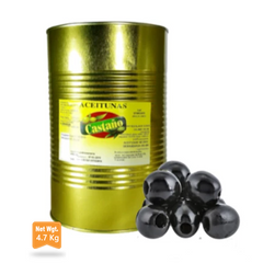 Pitted Black Olives 240/260 |Aceitunas Negras Sin Hueso 240/260