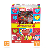 95#0492 La despensa Heart Mouthpainter Candy Box 80x13g -Gluten Free -FIESTA