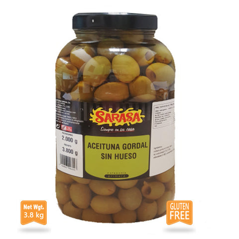 Gordal Olives Pitted Anchovy Flavour|Aceituna Gordal sin Hueso  Sabor a Anchoa