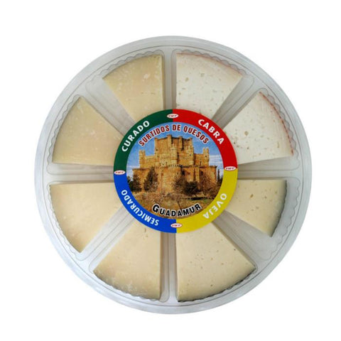 Spanish Cheese Table Selection|Tabla Selección Queso Guadamur