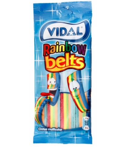 Vidal Rainbow Belts|Vidal Rainbow Belts
