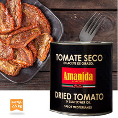 Dried Tomato in Sunflower Oil|Tomate Seco En Aceite de Girasol