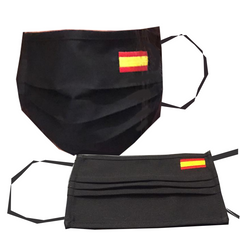 Mask Flag Embroided|Mascarilla con bandera