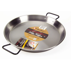 Polished Steel Paella Pan for Induction|Paella Pulida Especial Inducción Pata Negra