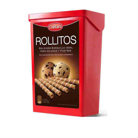 Rolled Dessert Wafers|Rollitos de Barquillo