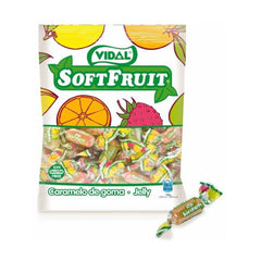 Vidal Soft Fruit Jelly|Gominolas caramelo