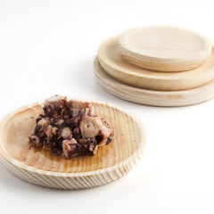 Wooden Plate for Spanish Octopus Dish|Plato para Pulpo a la Gallega