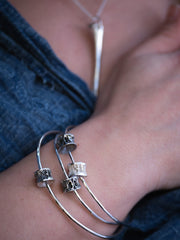 Afterlife bangle ~ double