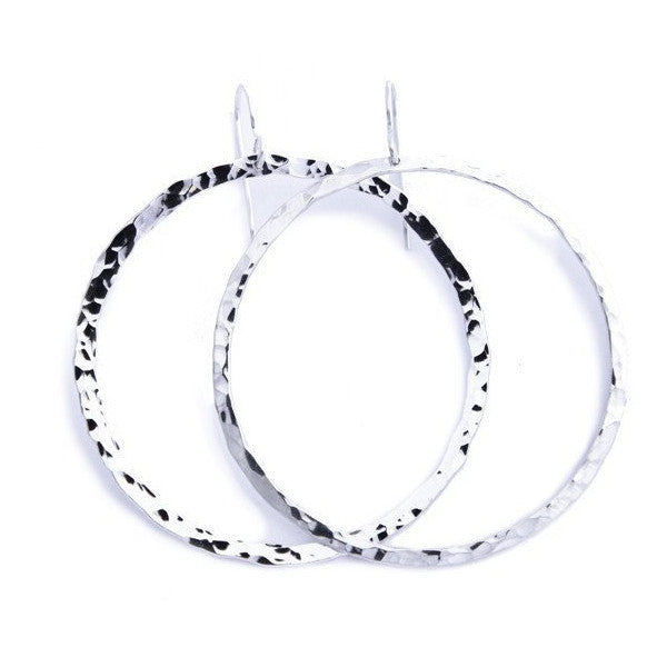 big hoop full circle earrings