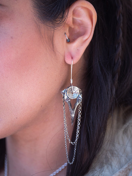 gatekeeper earrings ~ dark