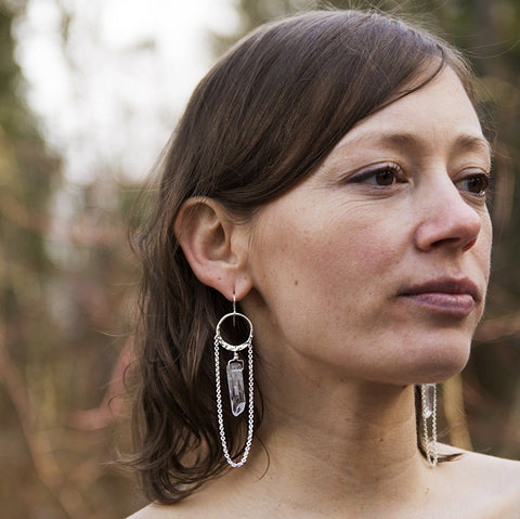 alder branch earrings