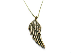 Bronze Wing Necklace