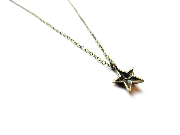 bronze star necklace