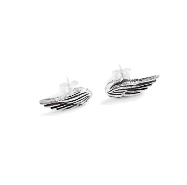wing stud earrings