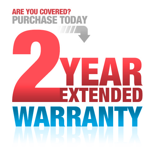 Extended Warranty (extends to 2 years)