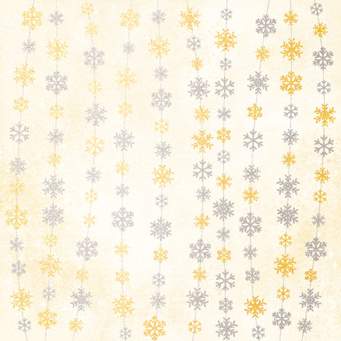 Winter Snowflakes - Warm Tones