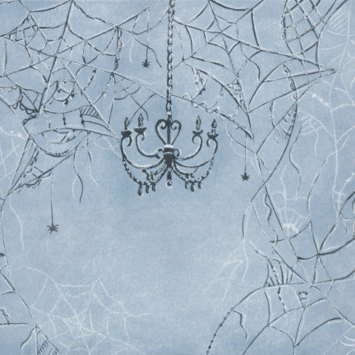 Chandelier Web MIS-PRINT - 84x60 POLY (Sample - Perfect Condition)