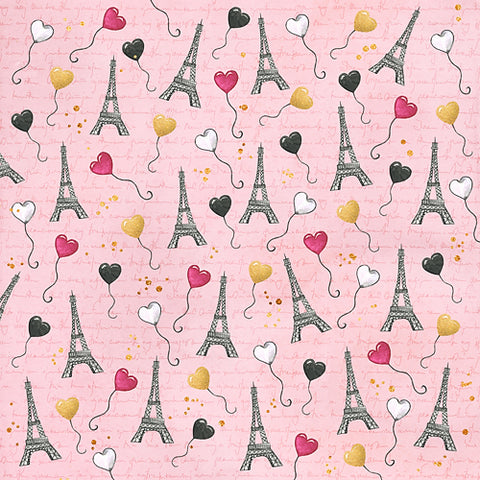 Love in Paris - Pink