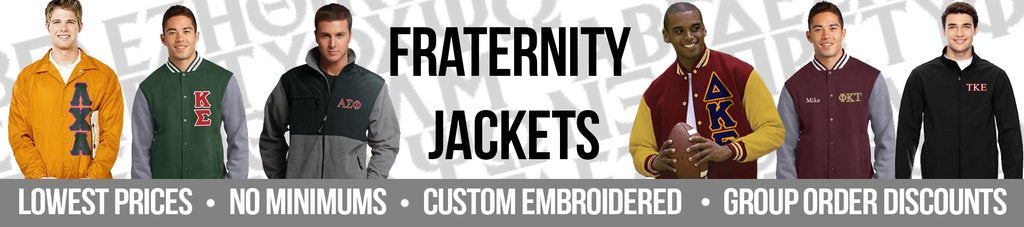 Custom Greek Fraternity Apparel Collection