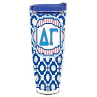 Delta Gamma delgam deltagam dg greek sorority gift accessories tumbler cup thermos merchandise