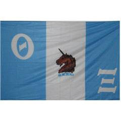 Theta Xi Fraternity Custom Greek flag banners