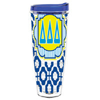 Delta Delta Delta tridelt tridelta greek sorority gift accessories tumbler cup thermos merchandise