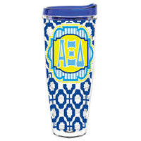 Alpha Xi Delta axid greek sorority gift accessories tumbler cup thermos