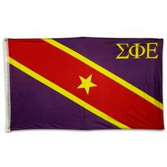 Sigma Phi Epsilon Fraternity Custom Greek flag banners