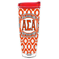 Alpha Sigma Alpha asa greek sorority gift accessories tumbler cup thermos