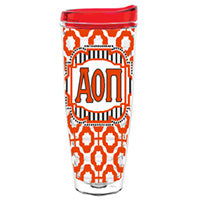 Alpha Omicron Pi aop aopi greek sorority gift accessories tumbler cup thermos