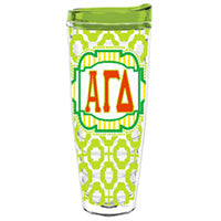 Alpha Gamma Delta agd greek sorority gift accessories tumbler cup thermos
