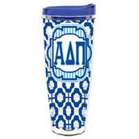 Alpha Delta Pi adp greek sorority gift accessories tumbler cup thermos