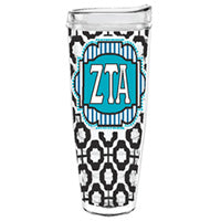 Zeta Tau Alpha zta greek sorority gift accessories tumbler cup thermos