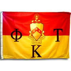 Phi Kappa Tau Fraternity Custom Greek flag banners