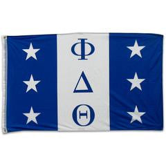 Phi Delta Theta Fraternity Custom Greek flag banners