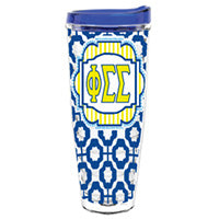 Phi Sigma Sigma phisig greek sorority gift accessories tumbler cup thermos