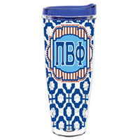 Pi Beta Phi greek sorority gift accessories tumbler cup thermos