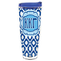 Kappa Kappa Gamma greek sorority gift accessories tumbler cup thermos