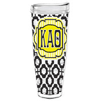 Kappa Alpha Theta greek sorority gift accessories tumbler cup thermos