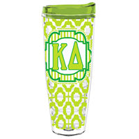 Kappa Delta greek sorority gift accessories tumbler cup thermos