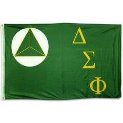 Delta Sigma Phi Fraternity Custom Greek flags and banners