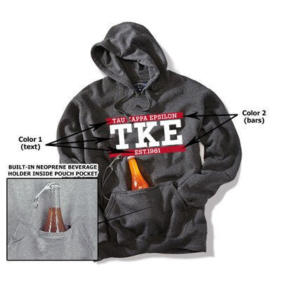 tailgate printed hoodie greek sorority fraternity clothing and merchandise