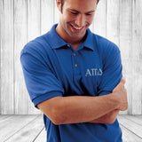 Fraternity Jersey Knit Polo Shirt