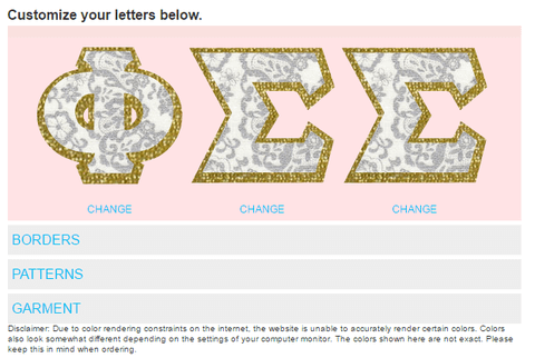 Something Greek Letter Generator.Something Greek S New Letter Generator