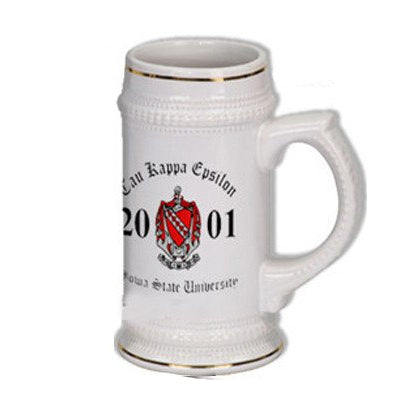 Custom Greek Stein formal merchandise