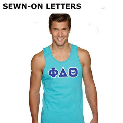 Fraternity Letter Tank Top