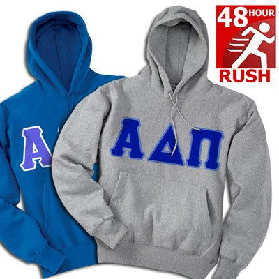 greek 48 hour two sweatshirt package hoodie fast shipping