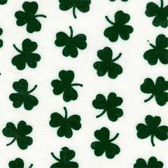 Something Greek Exclusive St. Patty's Clover Leaf Twill Pattern