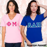 Sorority Horizontal V-Neck Tee Package
